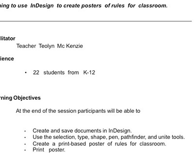 CLASSROOM  RULES  WITH INDSIGN