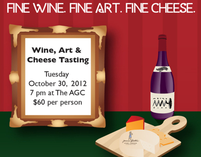 Wine and Cheese Tasting Event