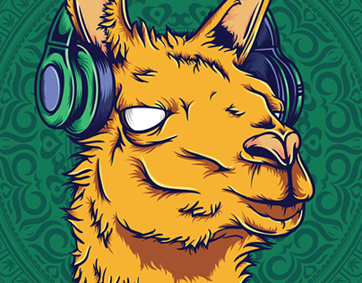Llama Sonido | Illustration