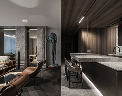 Colossus Apartment by YODEZEEN
