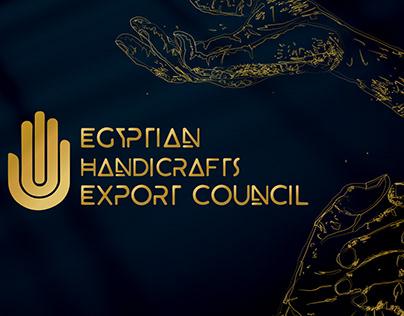 Egyptian Handicrafts Export Council branding