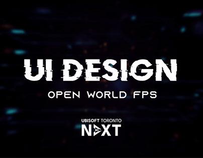 Ubisoft Next 2019 - UI Design