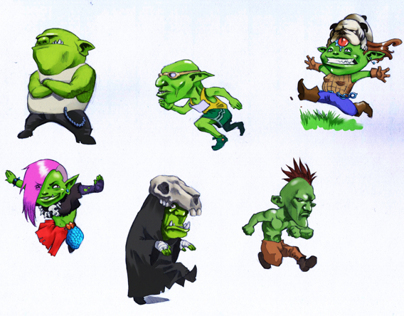 Funny goblins