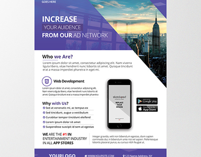 Agency Business - Download Free PSD Flyer Template