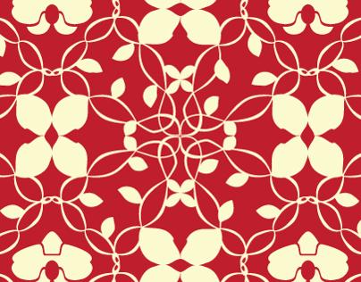 Art Nouveau Styled Pattern