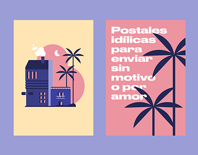 idyllic postcards