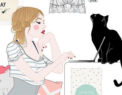 Passionata Illustration SIL // Summer 2016