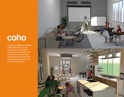 COHO: Transitional Housing Community