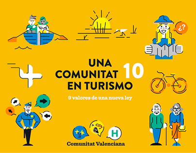 Graphics & Motion for Ley de Turismo CV
