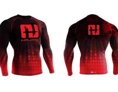 Hajime Fight Gear Logo and Collateral