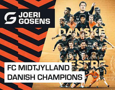 FC Midtjylland – Danish Champions