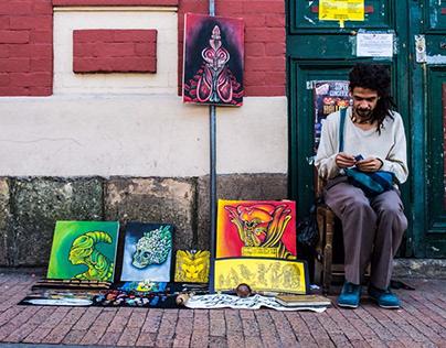Bogotá centro : Color