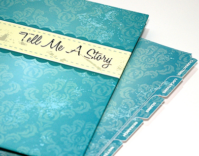 Tell Me A Story binder