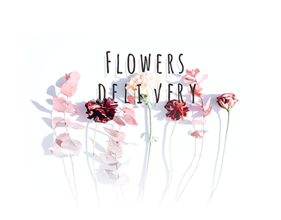 Flowers Delivery Concept