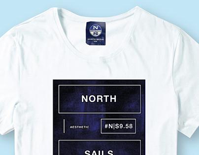 Placement Graphics T Shirt Print-Nautical- North Sails