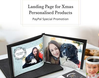 Printerpix Landing Page