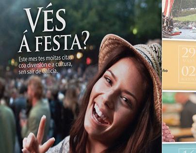 Xunta de Galicia. Festas