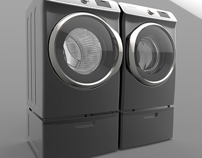 Samsung Washer & Dryer Animation