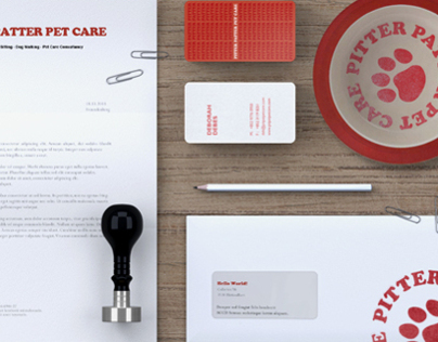 Pitter Patter Pet Care - Brand Identity
