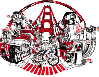 San Franpsycho Shirts Designs