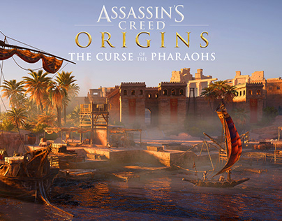 Assassin's Creed Curse of the Pharaohs Art-Elephantine