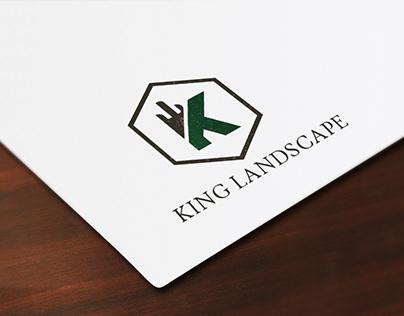 king landscape logo