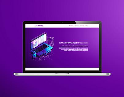 Sinrastro.cl + Landing page