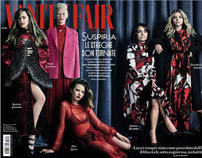 Vanity Fair Italia cover by Jason Bell