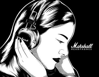 Marshall Headphones Advertising