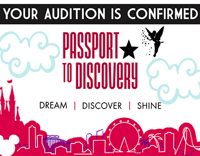 Passport to Discovery Confirmation Postcard