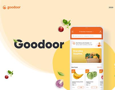 Goodoor: Multi-Vendor Mobile App for Grocery Business