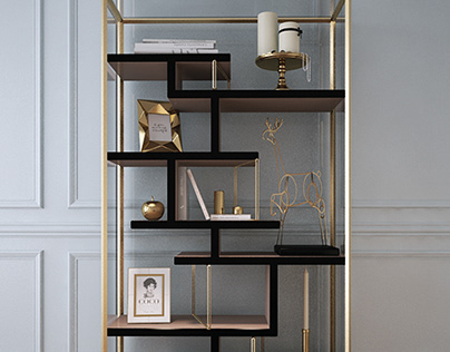 Glass cabinet FONDAZIONE for LETO Company