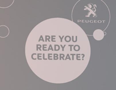 Peugeot - Christmas Window Store