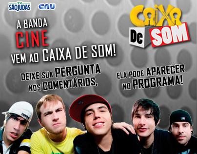 Banners para site-Programa Caixa de Som da TV São Judas
