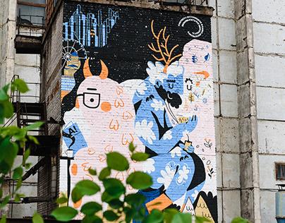 Spirits of Finland: Mural