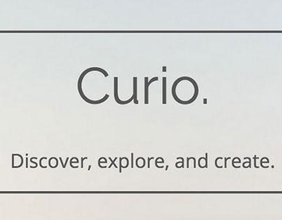 Crowd Curio - UX Design & Web Development