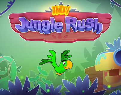 Indy Jungle Rush - Mobile Game