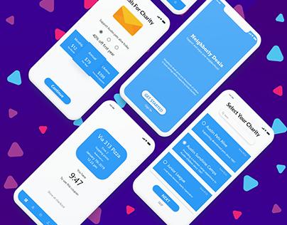 Chatiry App- IphoneX UI