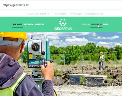 Website development for a geology company