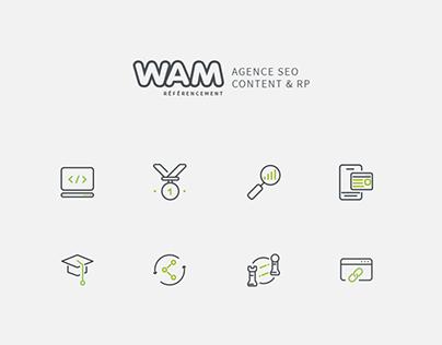Wam Référencement - Icons
