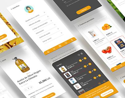 Real Food Market App