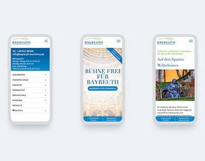 Bayreuth Tourismus   Website