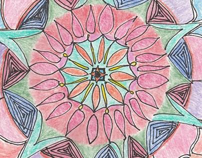 Mandala for a friend