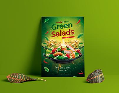Green Salads | Poster
