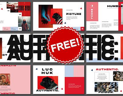 FREE Download - Authentic Keynote Presentation