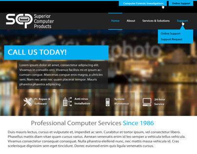 Superior Computer Products (Mockup)