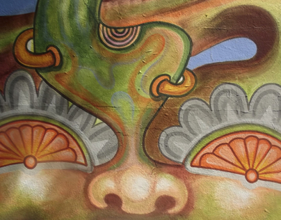 Mural: The Birth of a Plant