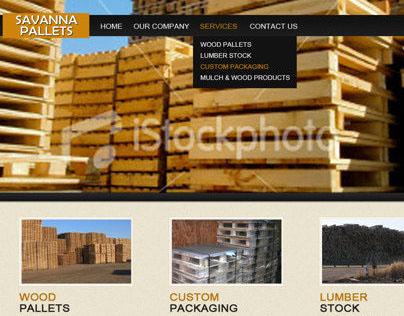 Savanna Pallets Website