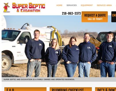 Super Septic Website