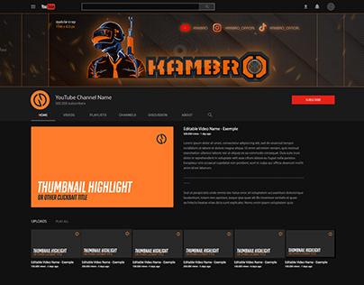 Youtube channel banner-KAMBRO